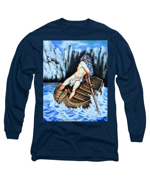 Caronte Long Sleeve T-Shirt by Victor Minca