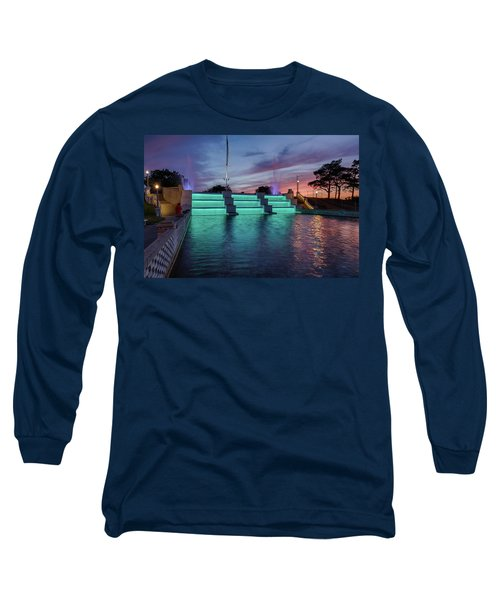 Cascade Falls Jackson Mi 1 Long Sleeve T-Shirt