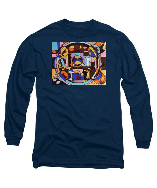 Cats In Focus Long Sleeve T-Shirt