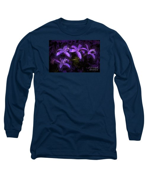 Cattleya Orchid Flower Long Sleeve T-Shirt by Suzanne Handel