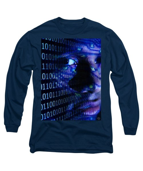 Long Sleeve T-Shirt featuring the digital art Caught In The Net by Gun Legler