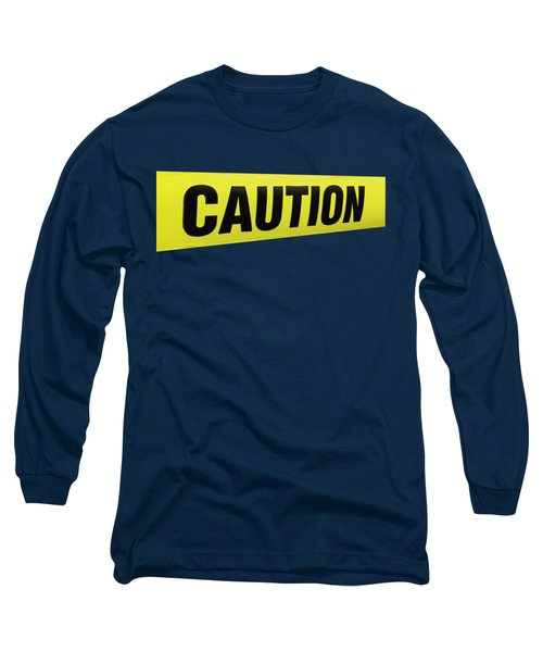 Caution Tape Long Sleeve T-Shirt