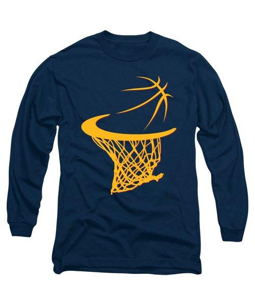 Cavaliers Basketball Hoop Long Sleeve T-Shirt