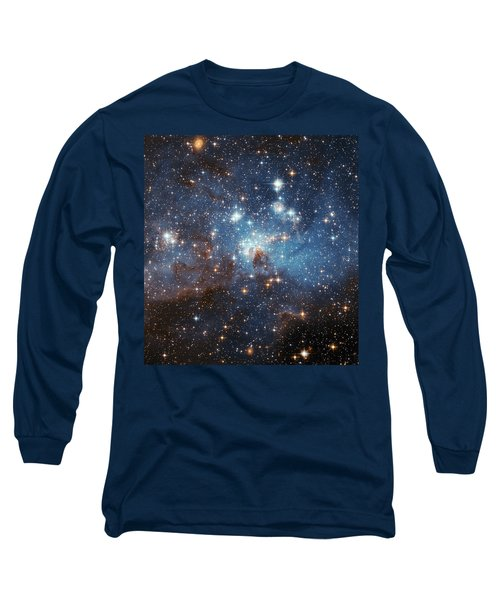 Long Sleeve T-Shirt featuring the photograph Celestial Season's Greetings From Hubble by Nasa