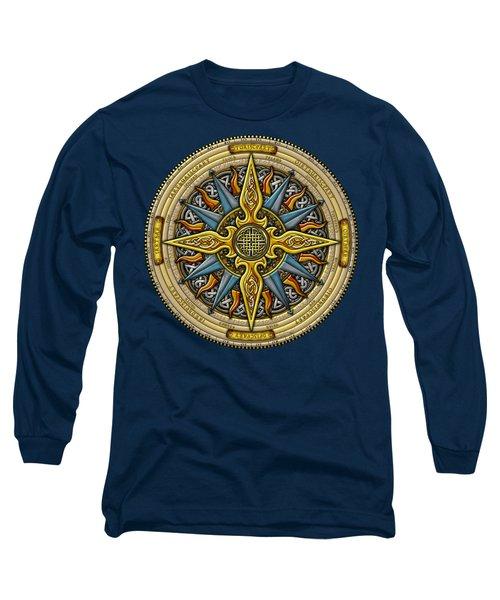 Celtic Compass Long Sleeve T-Shirt