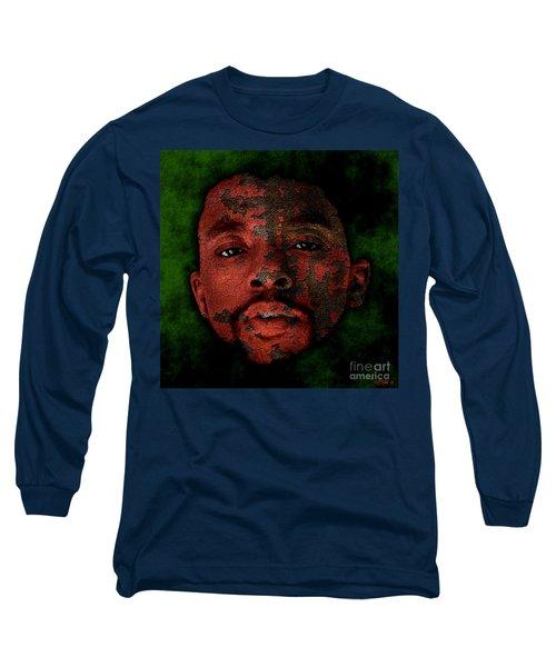 Chadwick Boseman Long Sleeve T-Shirt