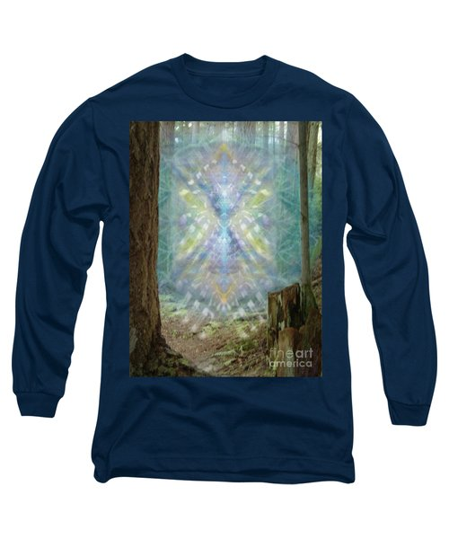 Chalice-tree Spirt In The Forest V2 Long Sleeve T-Shirt by Christopher Pringer