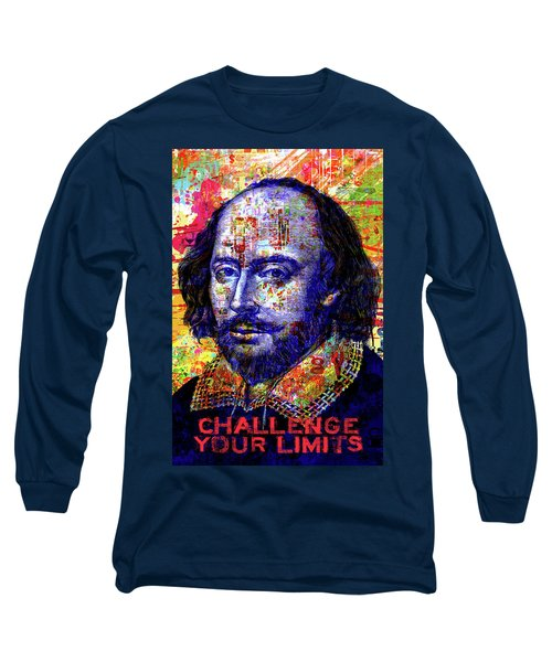 Challenge Your Limits Long Sleeve T-Shirt by Gary Grayson