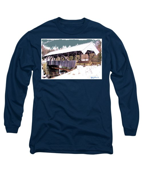 Chamberlain Bridge Long Sleeve T-Shirt