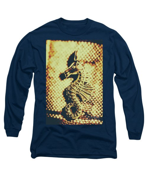 Charming Vintage Seahorse Long Sleeve T-Shirt