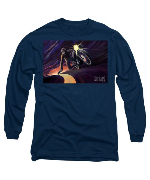 Chasing The Line Speed Racer Long Sleeve T-Shirt