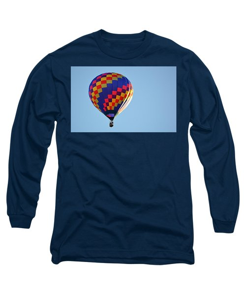 Checkerboard Long Sleeve T-Shirt