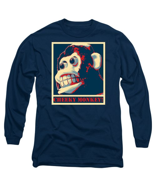 Long Sleeve T-Shirt featuring the photograph Cheeky Monkey by Richard Reeve