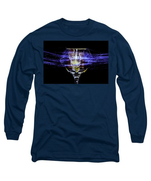 Cheese And Wine Long Sleeve T-Shirt