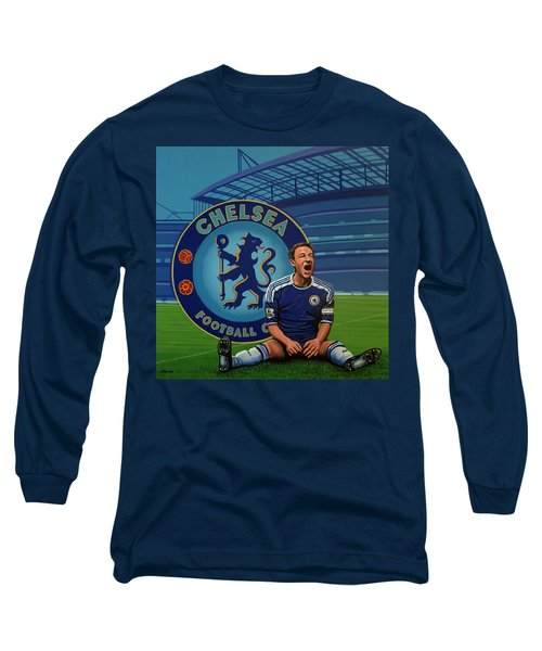 Chelsea London Painting Long Sleeve T-Shirt
