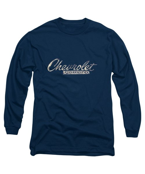 Chevrolet Camaro Badge Long Sleeve T-Shirt