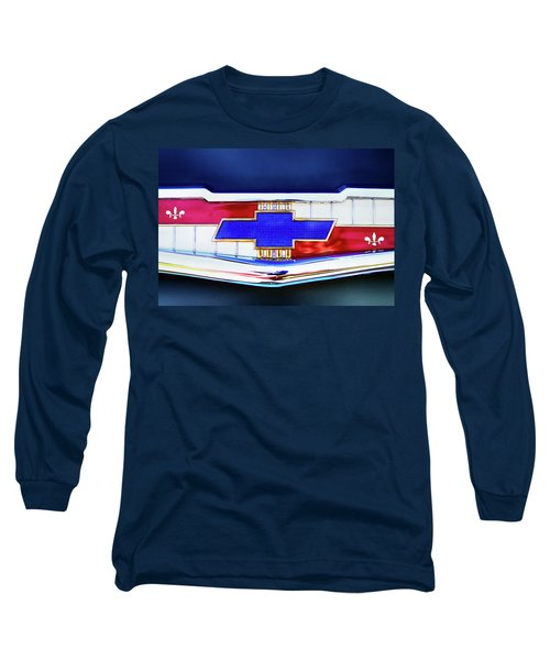 Chevy's Fifties Bowtie Long Sleeve T-Shirt