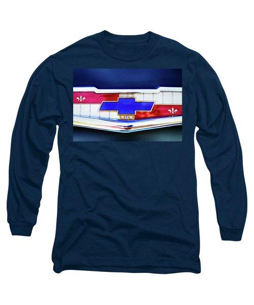 Chevy's Fifties Bowtie Long Sleeve T-Shirt