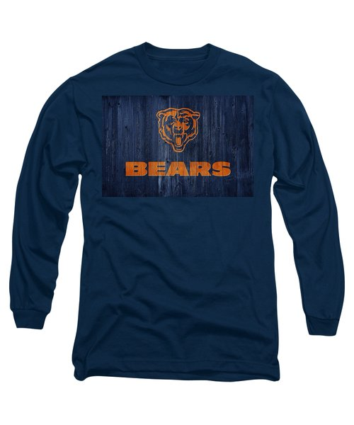 Chicago Bears Barn Door Long Sleeve T-Shirt
