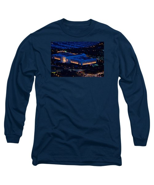 Long Sleeve T-Shirt featuring the photograph Chicago Field Museum by Richard Zentner