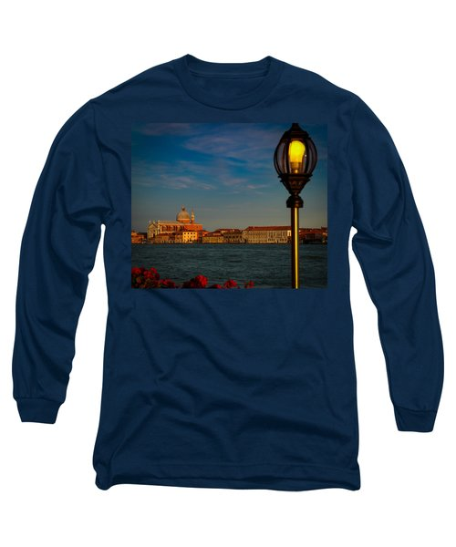 Long Sleeve T-Shirt featuring the photograph Chiesa Del Santissimo Redentore by Kathleen Scanlan