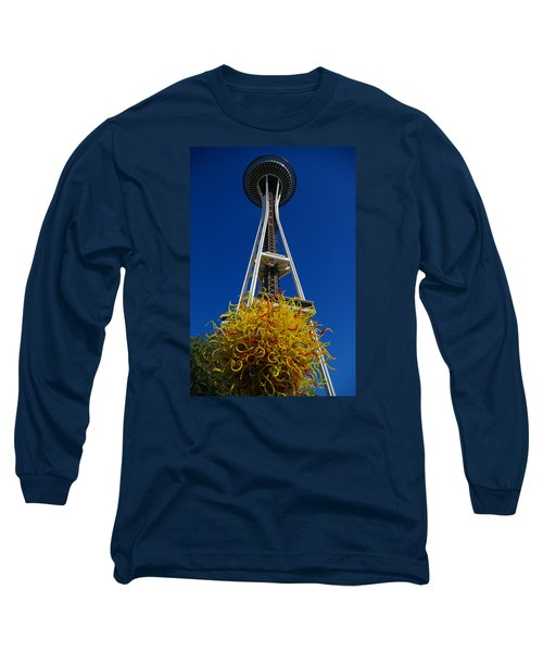 Seattle Space Needle Long Sleeve T-Shirt