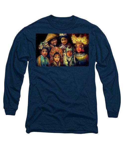 Children Of Asia Long Sleeve T-Shirt