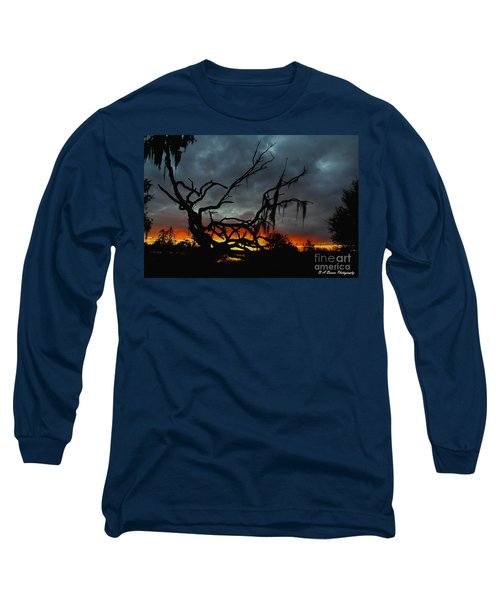 Chilling Sunset Long Sleeve T-Shirt