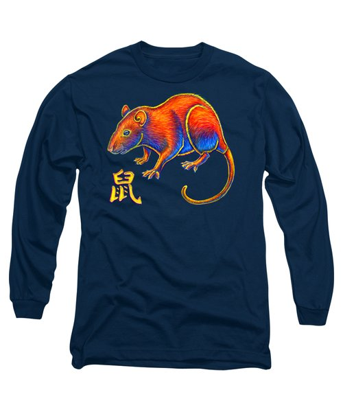 Chinese Zodiac - Year Of The Rat Long Sleeve T-Shirt