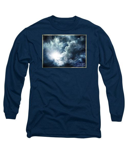 Chink Of Light - Spiraglio Di Luce Long Sleeve T-Shirt by Zedi