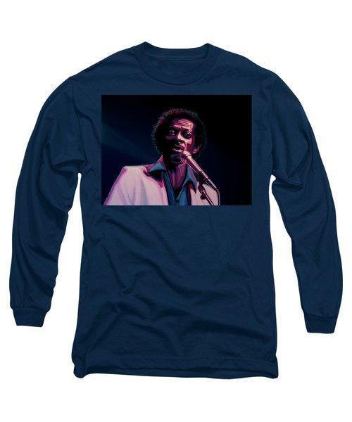 Chuck Berry Long Sleeve T-Shirt by Paul Meijering