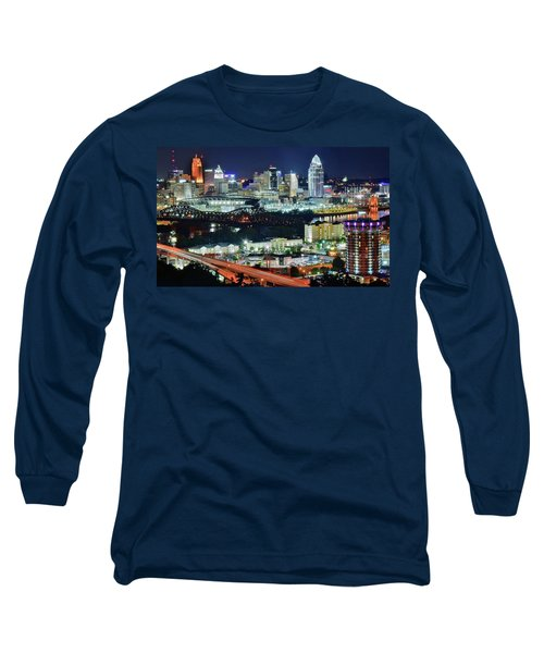 Cincinnati And Covington Collide Long Sleeve T-Shirt