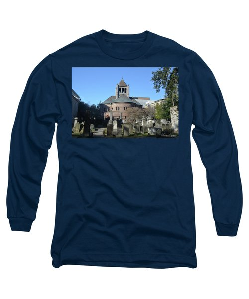 Circular Congregational Church Long Sleeve T-Shirt by Gordon Mooneyhan