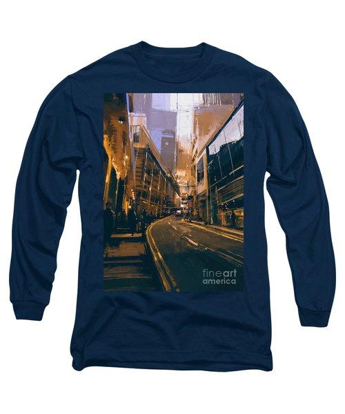 City Street Long Sleeve T-Shirt