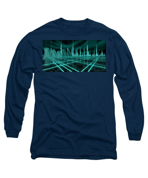 Cityscape 2010 Alpha Long Sleeve T-Shirt