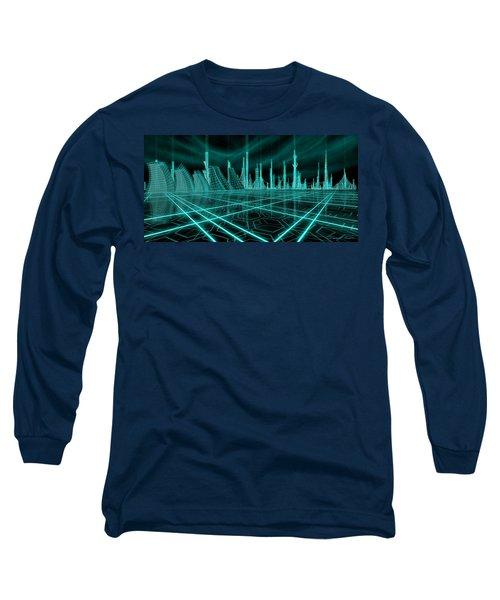 Cityscape 2010 Alpha Long Sleeve T-Shirt