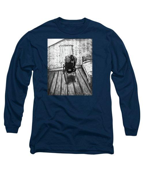 Rhode Island Civil War, Vacant Chair Long Sleeve T-Shirt