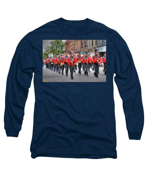 Clarinda Iowa Marching Band Long Sleeve T-Shirt
