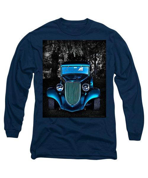 Classic Blue Long Sleeve T-Shirt