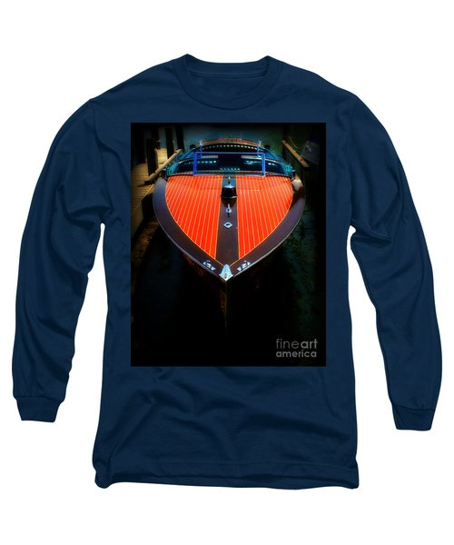 Classic Wooden Boat Long Sleeve T-Shirt