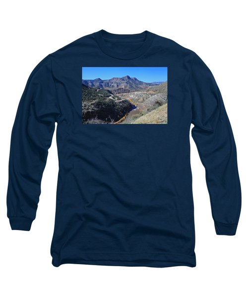 Clear And Rugged Long Sleeve T-Shirt by Gary Kaylor