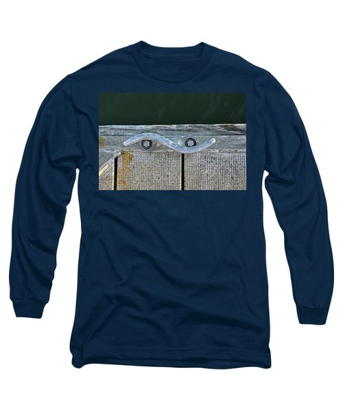 Cleat On A Dock Long Sleeve T-Shirt