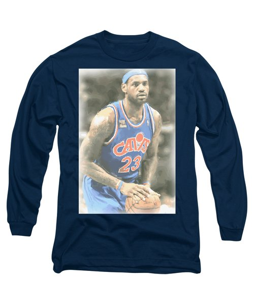 Cleveland Cavaliers Lebron James 1 Long Sleeve T-Shirt