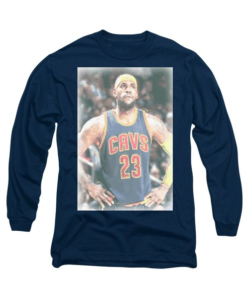 Cleveland Cavaliers Lebron James 5 Long Sleeve T-Shirt
