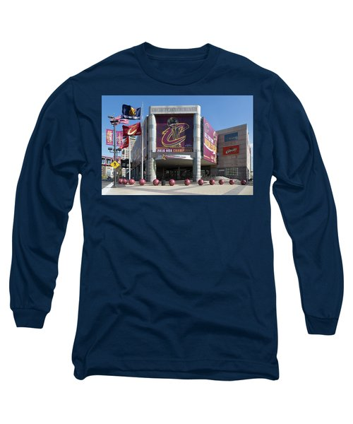 Cleveland Cavaliers The Q Long Sleeve T-Shirt