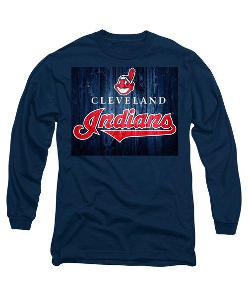 Cleveland Indians Barn Door Long Sleeve T-Shirt