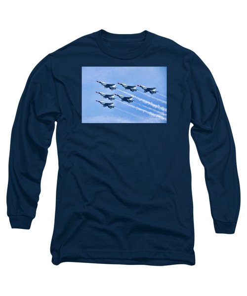 Cleveland National Air Show - Air Force Thunderbirds - 1 Long Sleeve T-Shirt