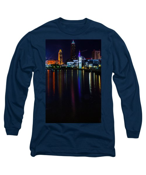 Cleveland Nightly Reflections Long Sleeve T-Shirt