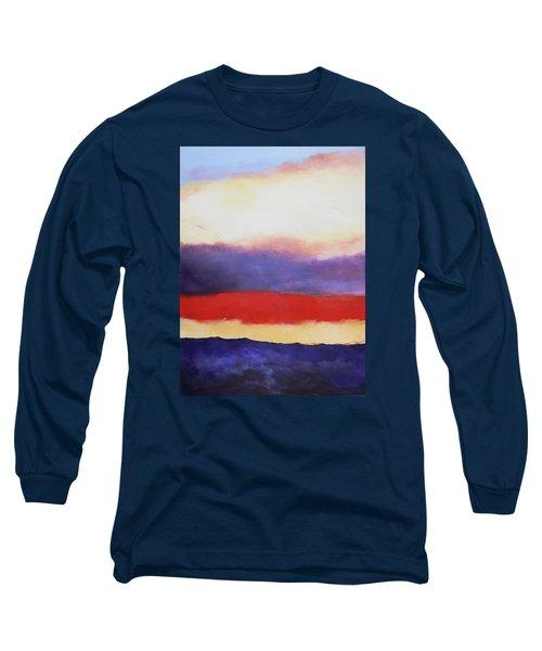 Cloud Layers 4 Long Sleeve T-Shirt by M Diane Bonaparte