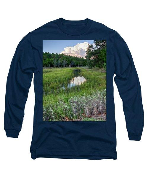 Cloud Over Marsh Long Sleeve T-Shirt
